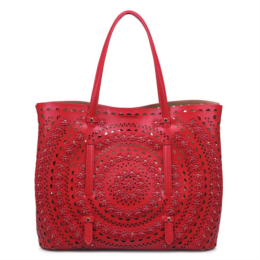 Urban Expressions London Handbags 840611126450 | Red