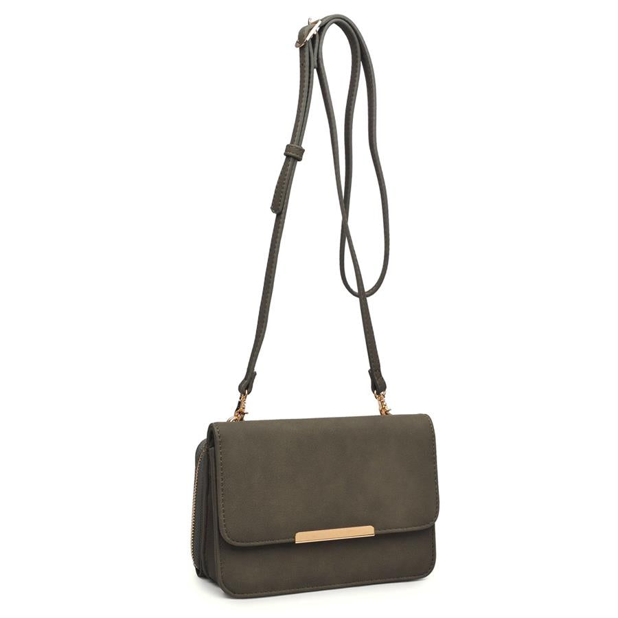Urban Expressions Breaker Crossbody 840611132741 | Olive