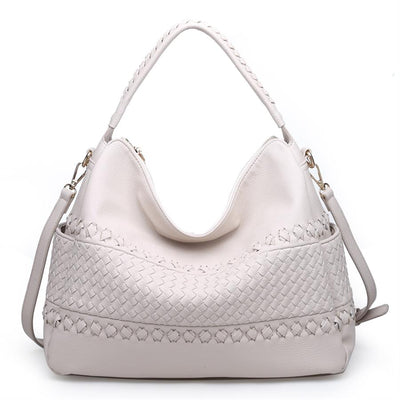 Urban Expressions Constance Handbags 840611132062 | Cream