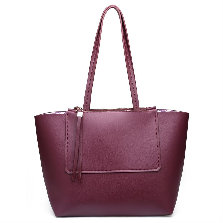 Urban Expressions Apollo Handbags 840611132260 | Burgundy
