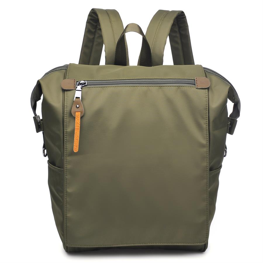 Urban Expressions Attitude Backpacks 840611137852 | Olive