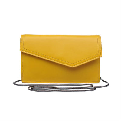 Urban Expressions Dharma Clutches 840611133465 | Mustard