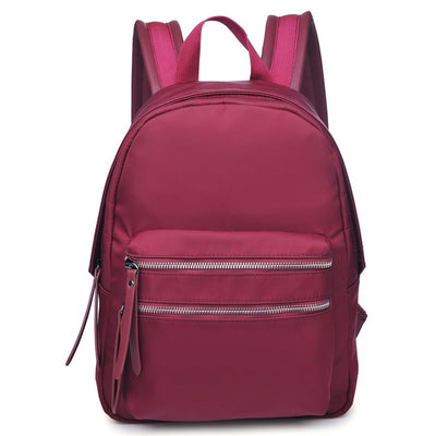 Urban Expressions Kicker Backpacks 840611137890 | Burgundy