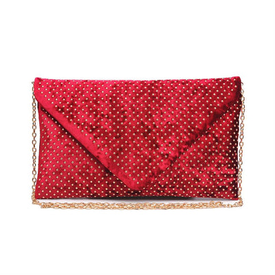 Urban Expressions Elton Clutches 840611134462 | Burgundy