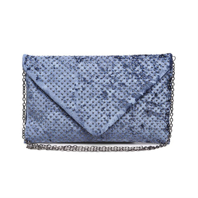 Urban Expressions Elton Clutches 840611134455 | Slate