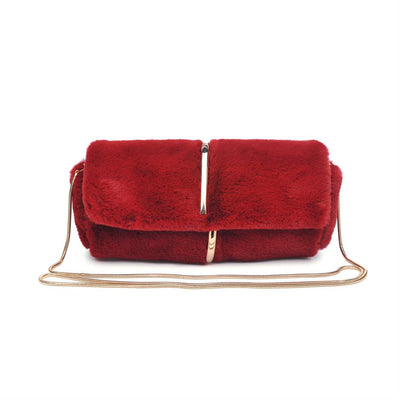 Urban Expressions Neptune Clutches 840611135445 | Burgundy