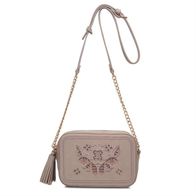 Urban Expressions Audrey Crossbody 840611136916 | Taupe