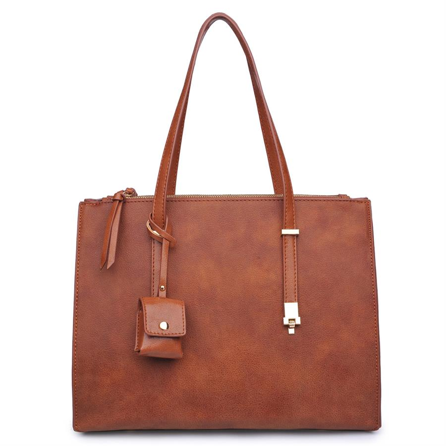 Urban Expressions Aveline Handbags 840611139177 | Tan