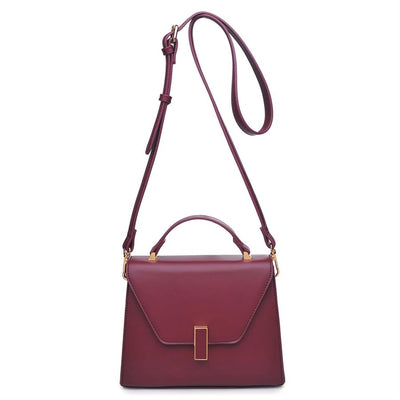 Urban Expressions Collette Crossbody 840611139535 | Burgundy