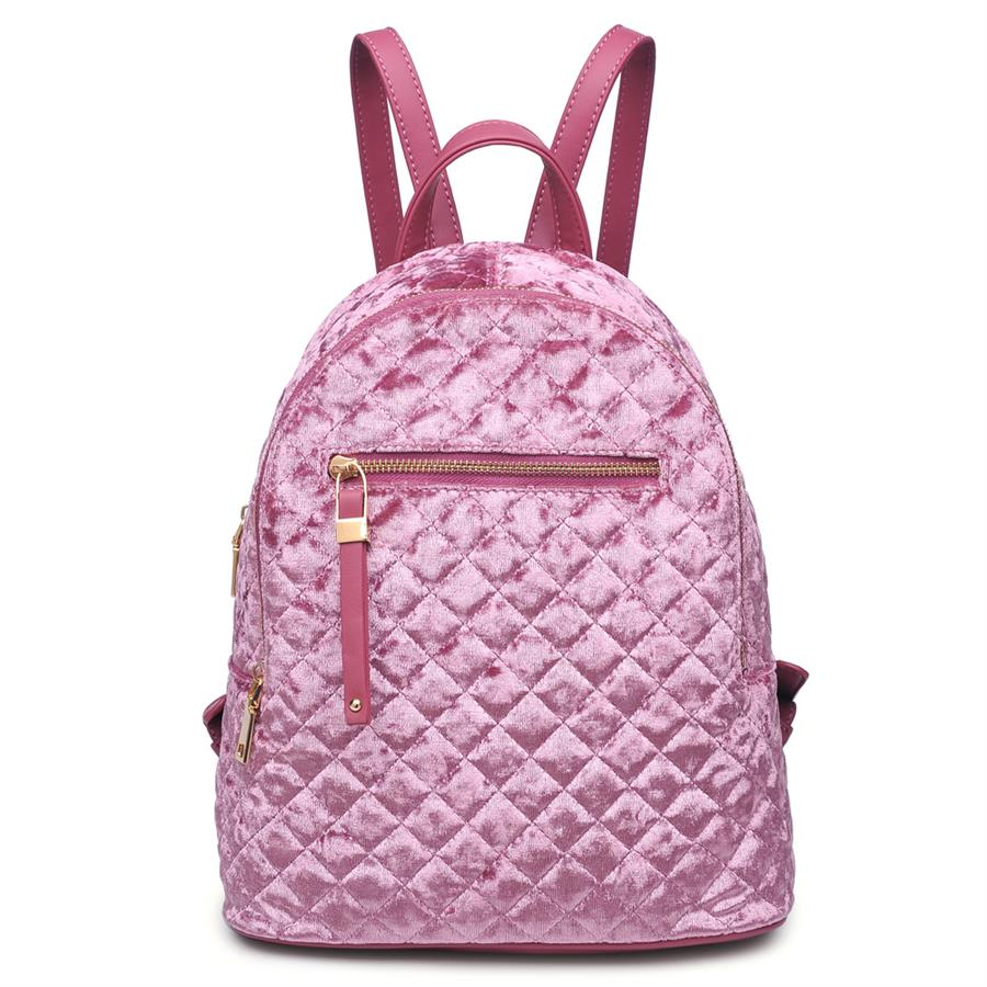 Urban Expressions Noelle Backpacks 840611140784 | Dusty Pink