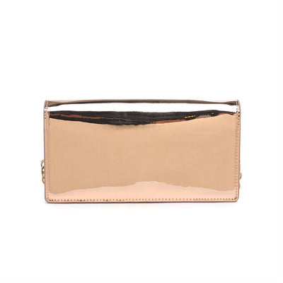 Urban Expressions Blaze Clutches 840611143945 | Rose Gold