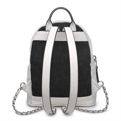 Urban Expressions Manhattan Backpacks 840611145642 | White