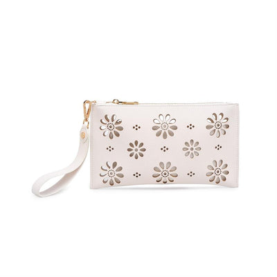 Urban Expressions Lorelai Clutches 840611146670 | Ivory