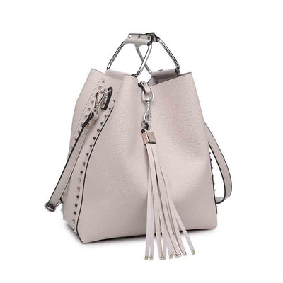 Urban Expressions Adele Handbags 840611147561 | Stone