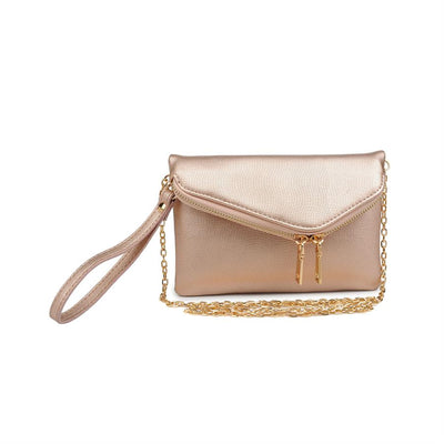 Urban Expressions Lucy Pebble Clutches 840611147936 | Rose Gold