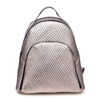 Urban Expressions Diamond Backpacks 840611149053 | Rose Gold