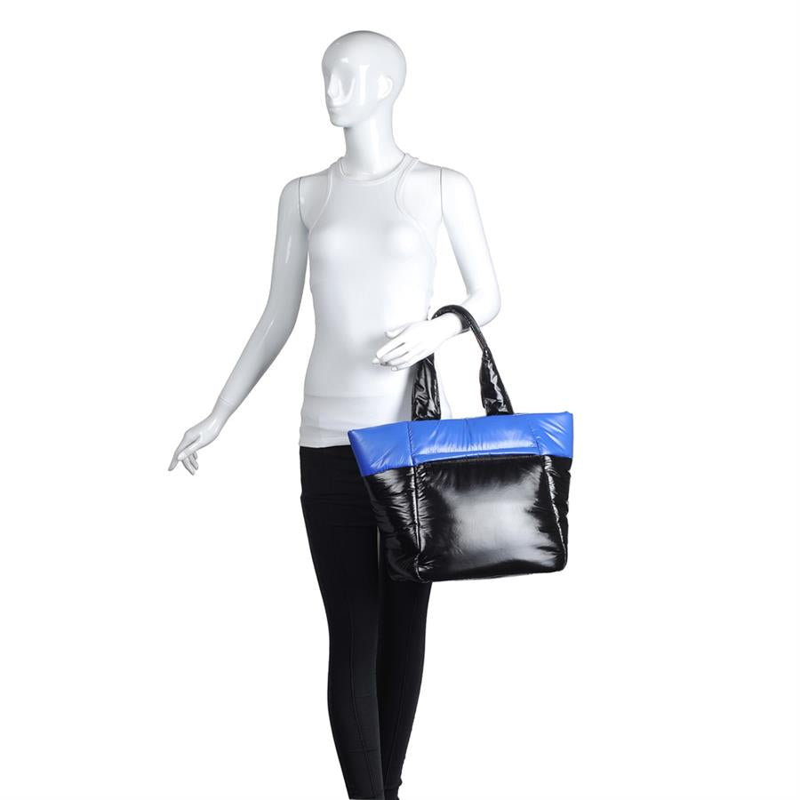 Urban Expressions Asana Handbags 840611148995 | Blue