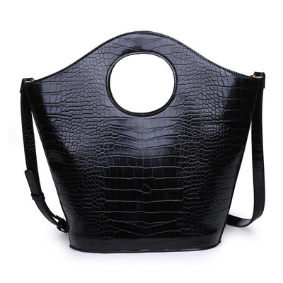 Urban Expressions Medusa Handbags 840611155634 | Black