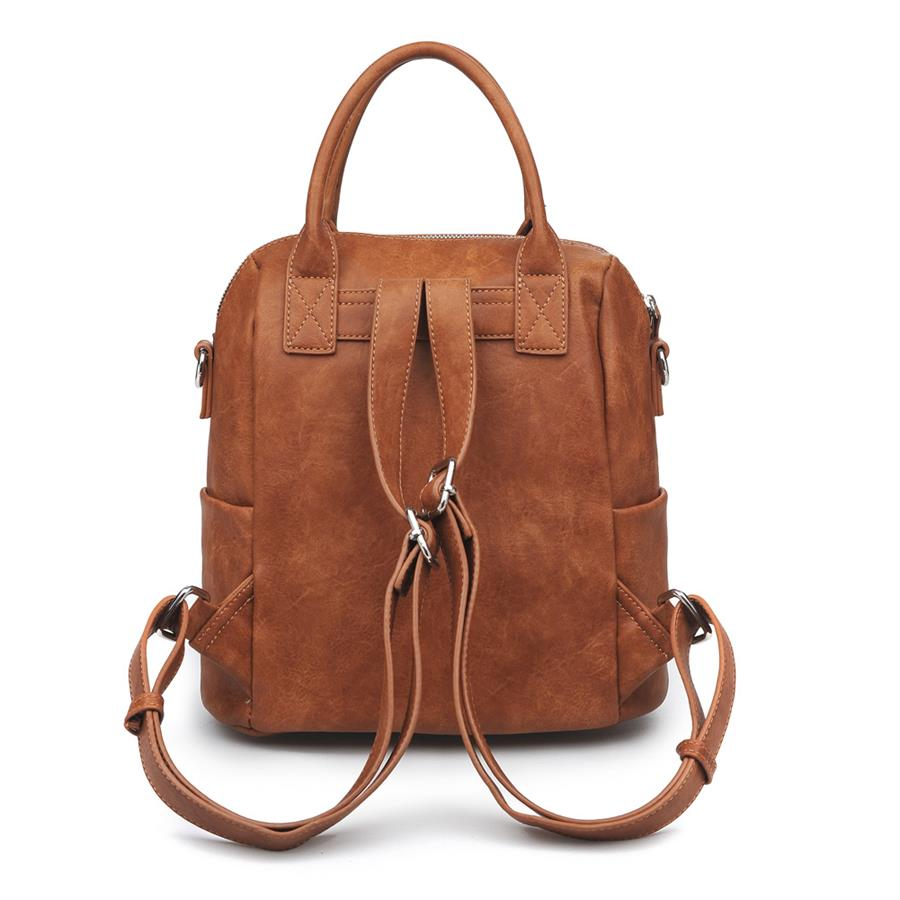 Urban Expressions Andre Backpacks 840611150905 | Cognac