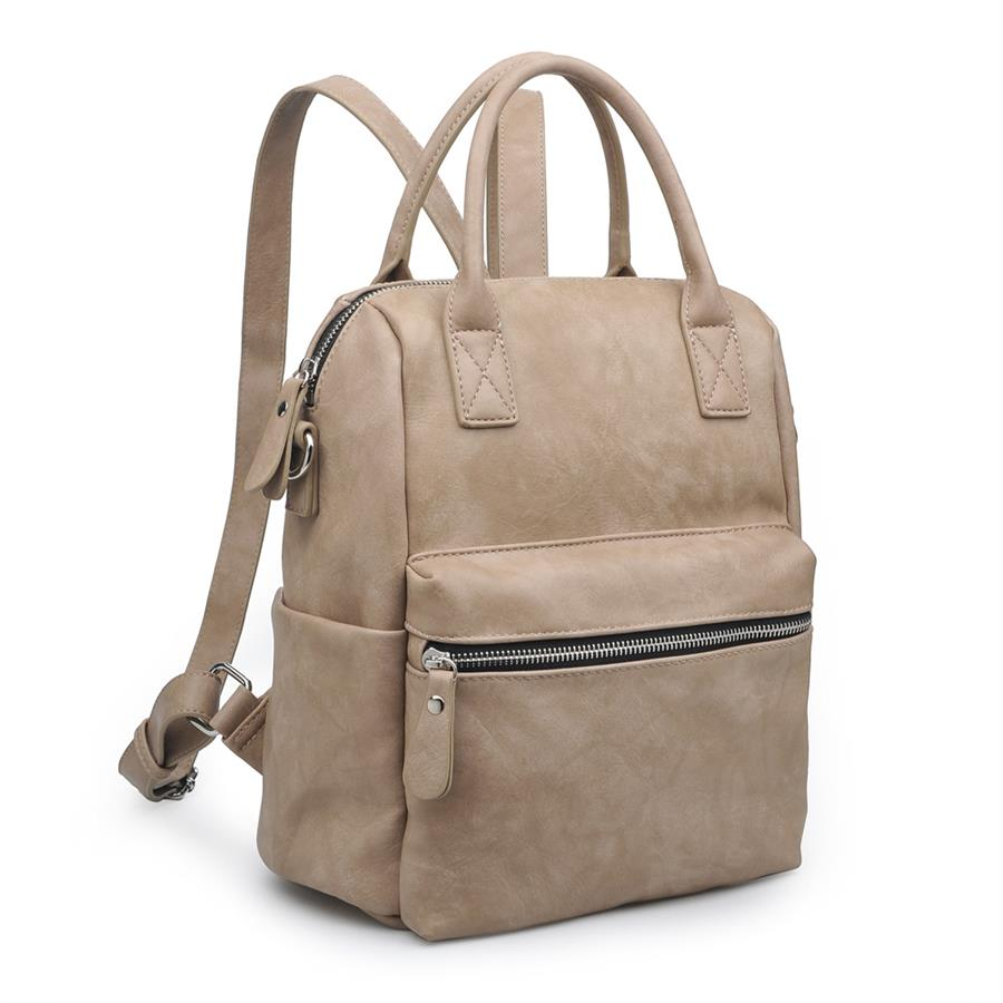Urban Expressions Andre Backpacks 840611150929 | Stone