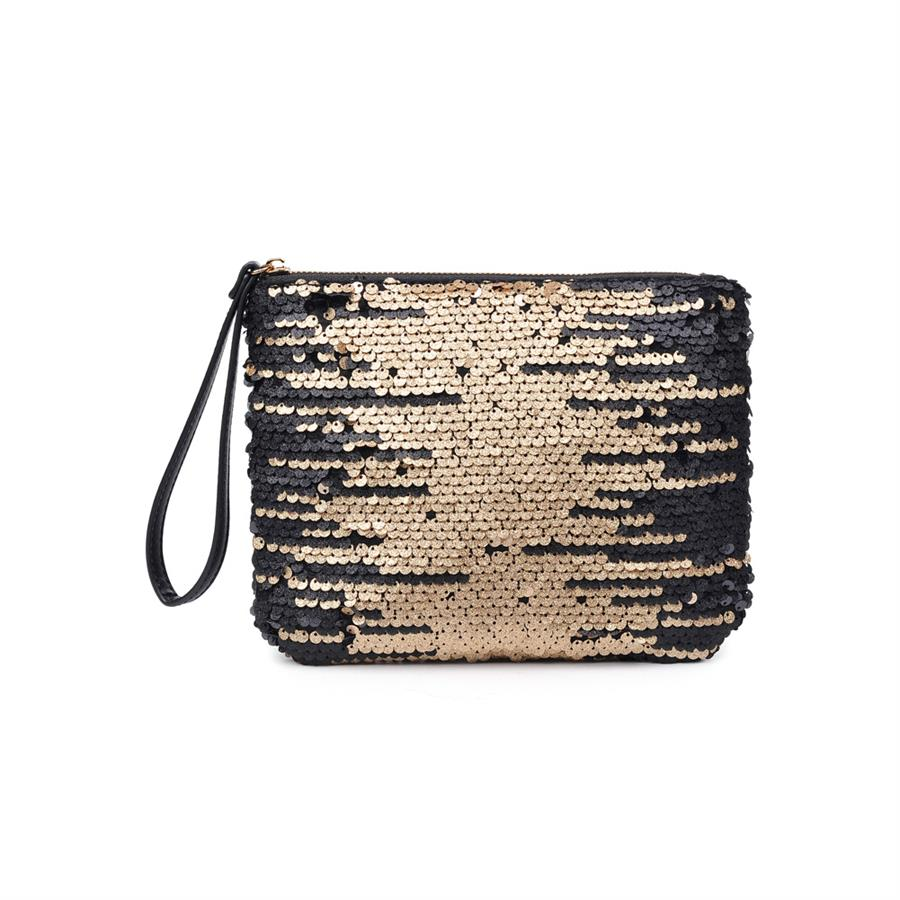 Urban Expressions Leelee Clutches 840611156235 | Gold
