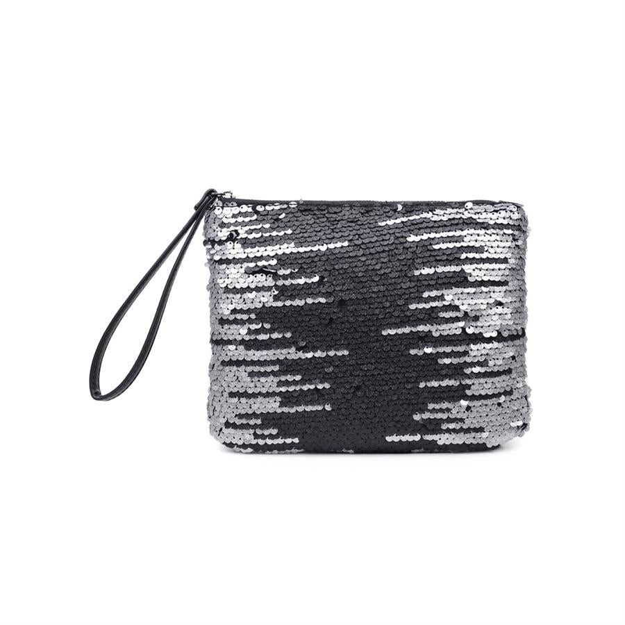 Urban Expressions Leelee Clutches 840611156242 | Silver
