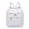 Urban Expressions Monroe Women : Backpacks : Backpack 840611161093 | White