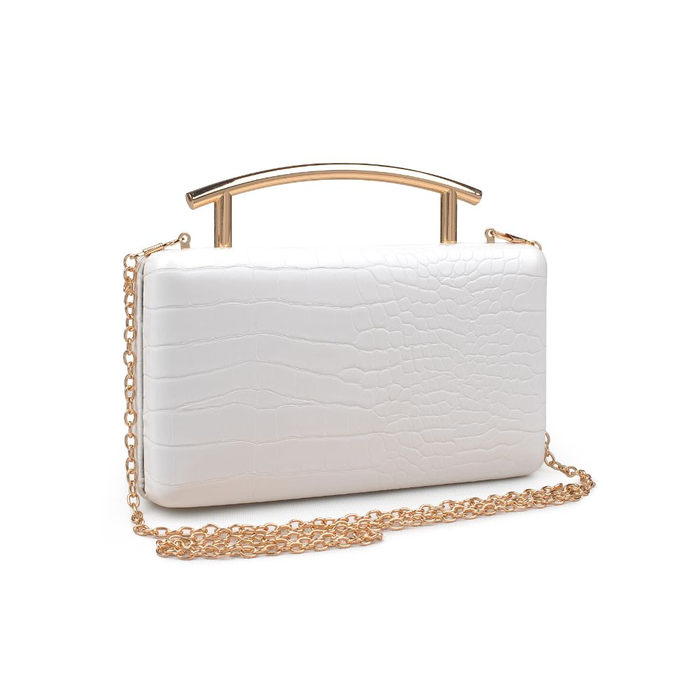 Urban Expressions Claudette Women : Clutches : Clutch 840611171771 | Ivory
