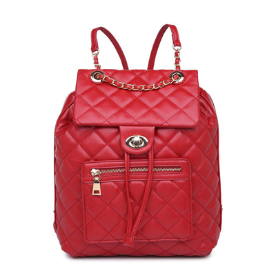 Urban Expressions Monroe Women : Backpacks : Backpack 840611161109 | Red