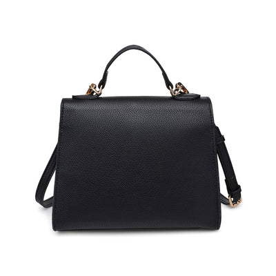 Urban Expressions Alexis Women : Handbags : Satchel 840611154194 | Black
