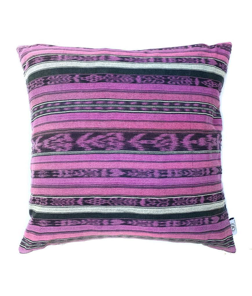 Rosy Brown Vintage Corte Accent Pillow - Camila