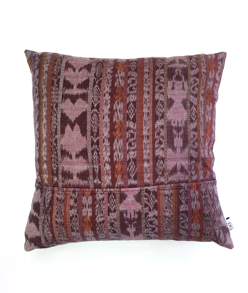 Dim Gray Vintage Corte Accent Pillow - Terra