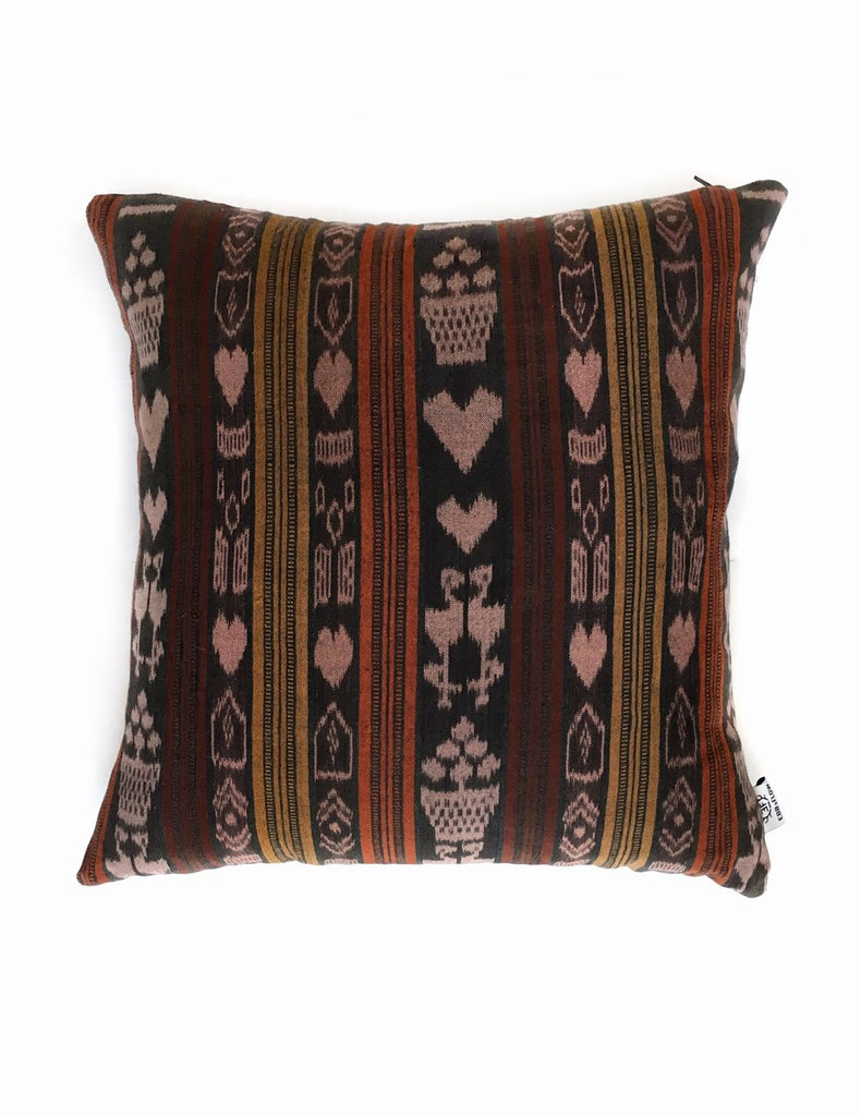 Saddle Brown Vintage Corte Accent Pillow - Solola