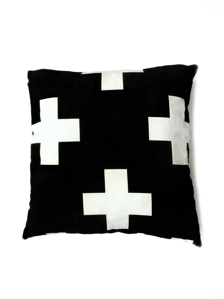 Black La Cruz Pillow