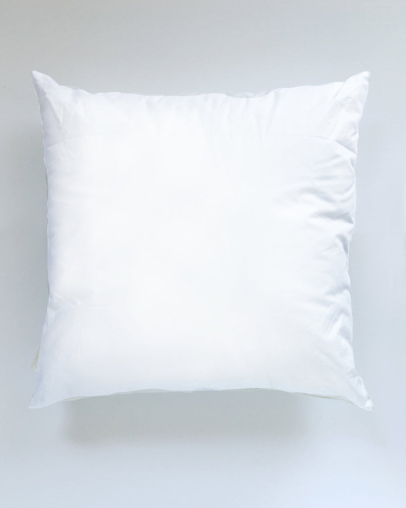 "White Smoke 20"" x 20"" Synthetic Down Pillow Insert"