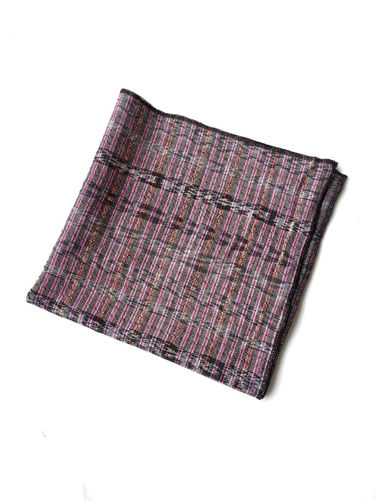 Dim Gray Catarina Cotton Napkin - Maroon