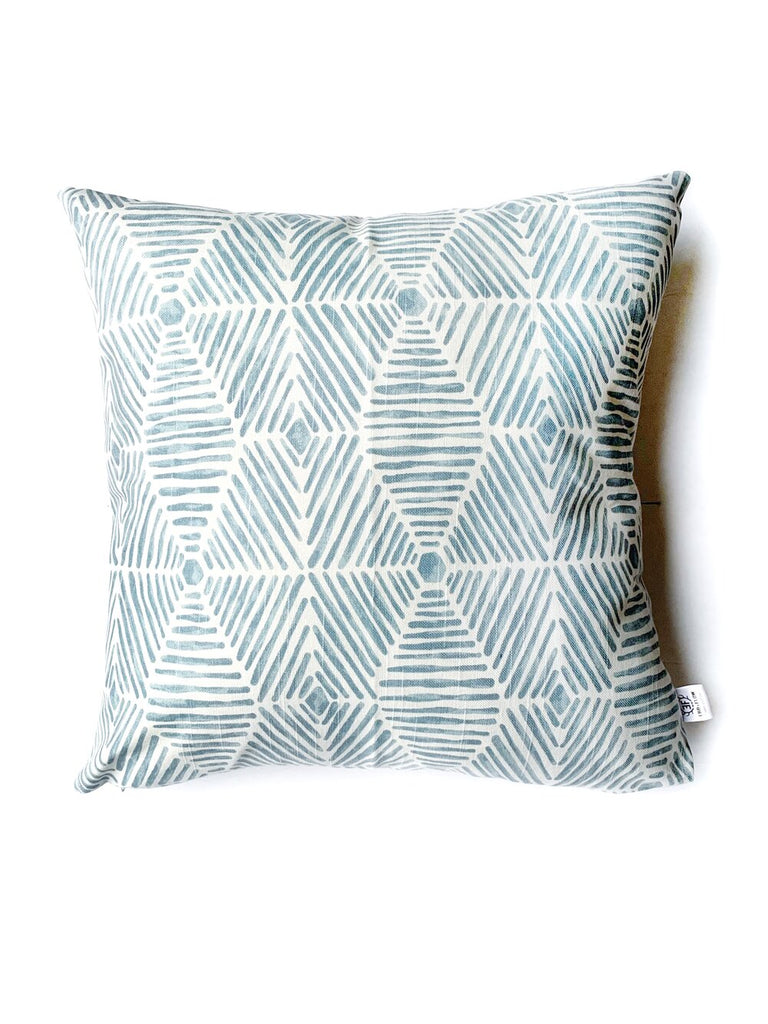 Gray Riviera Pillow