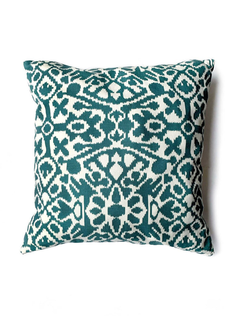 Dark Slate Gray Tikal Pillow