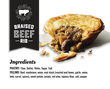 "5"" Braised Beef Rib Pie 