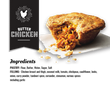 "5"" Butter Chicken Pie 