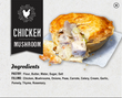 "5"" Chicken Mushroom Pot Pie 