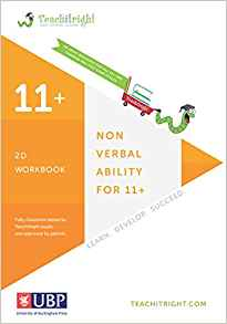 11+ Tuition Guides: Non Verbal Ability 2D Tests