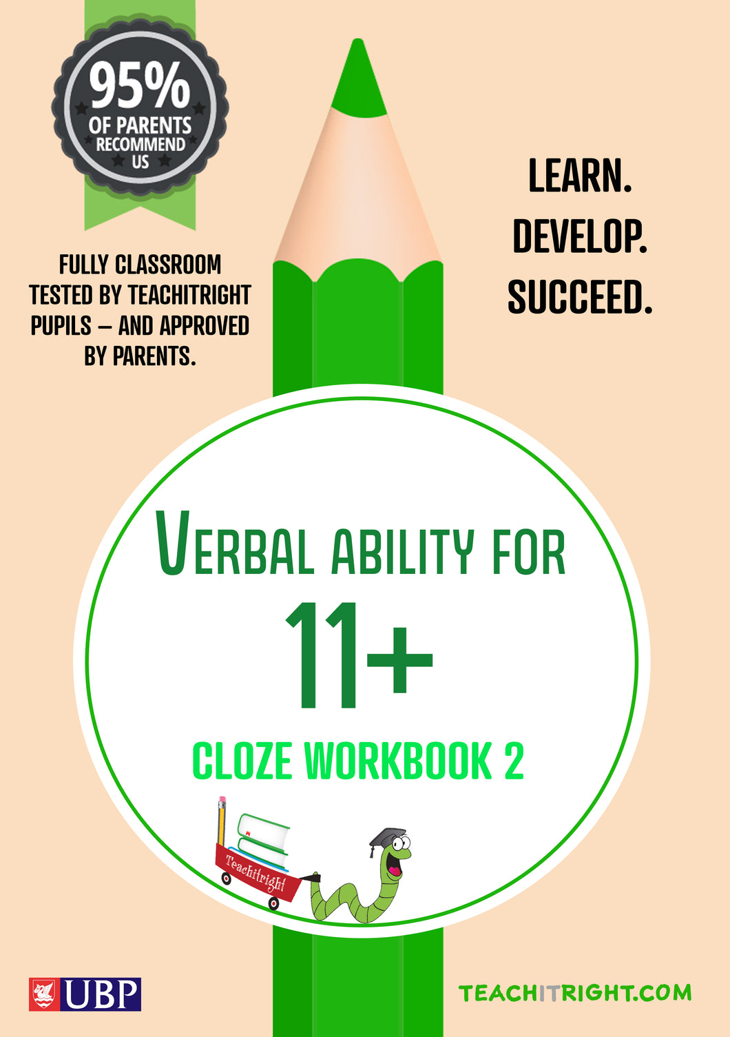 11+ Tuition Guides: VERBAL ABILITY – Cloze Workbook 2