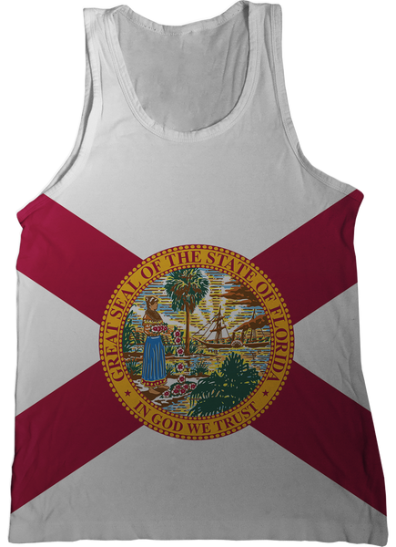 7619acd661bfb Florida State Flag Tank Top - Nation Tanks