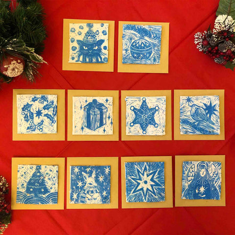 Kat Wojdyla's Unique Blooming Eco-Friendly Christmas Cards for the Sir Arthur Conan Doyle Centre