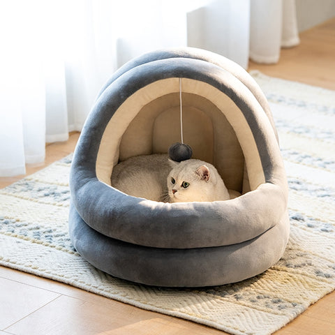Luxury Cat Cave Bed (6220541460667)