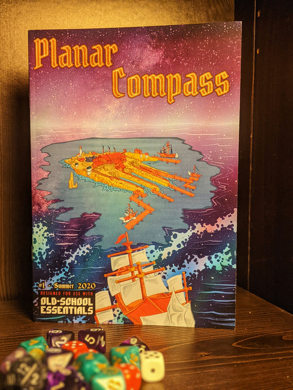 Planar Compass Issue #1