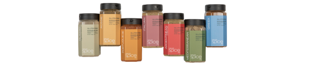 Range of flavours natural spice co