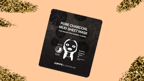 JJ Young Pore Charcoal Mud Sheet Mask Review