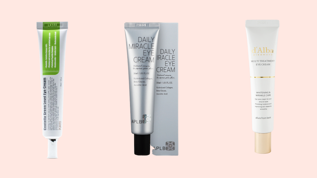 Best K-Beauty Eye Creams